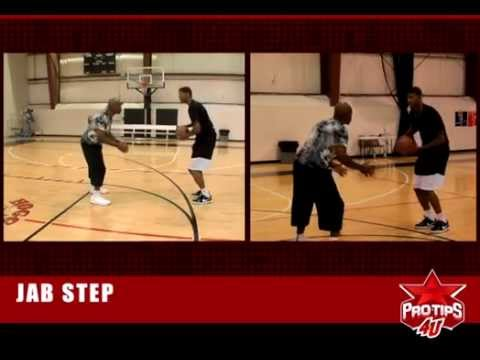 How to do the basketball jab step with Paul George