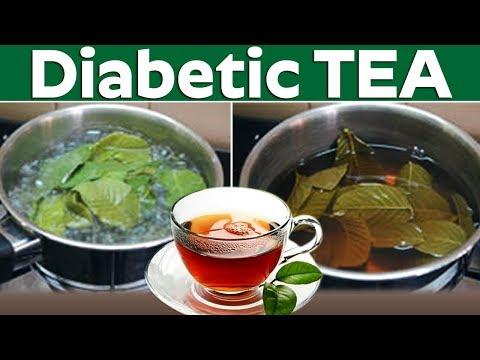 How to make guava leaf tea for diabetics?