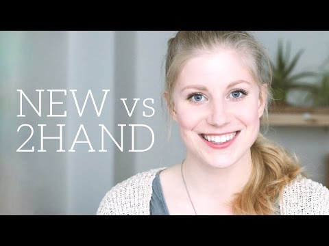 New vs. Used Clothing - which is better?