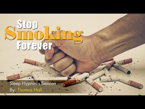 Stop Smoking Forever - Sleep Hypnosis Session By Thomas Hall