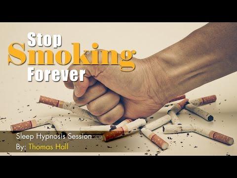 Stop Smoking Forever - Sleep Hypnosis Session By Thomas Hall
