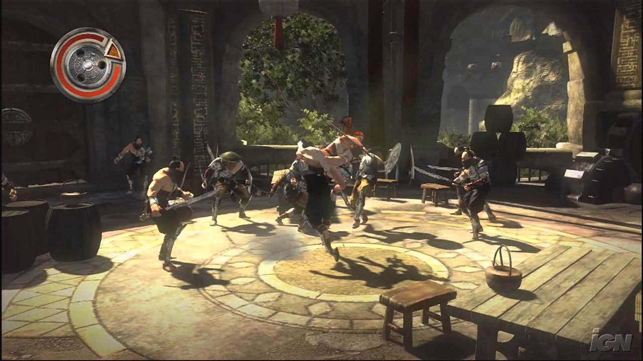 Heavenly Sword Playstation 3 Gameplay Many Foes To Fight Youtube
