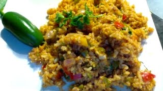 Easy Mexican Rice with Brown Rice-Arroz Mexicano-Indo Mexican