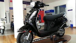 2020 Suzuki Access 125 Standard BS6 - Glass Sparkle Black Review 2020