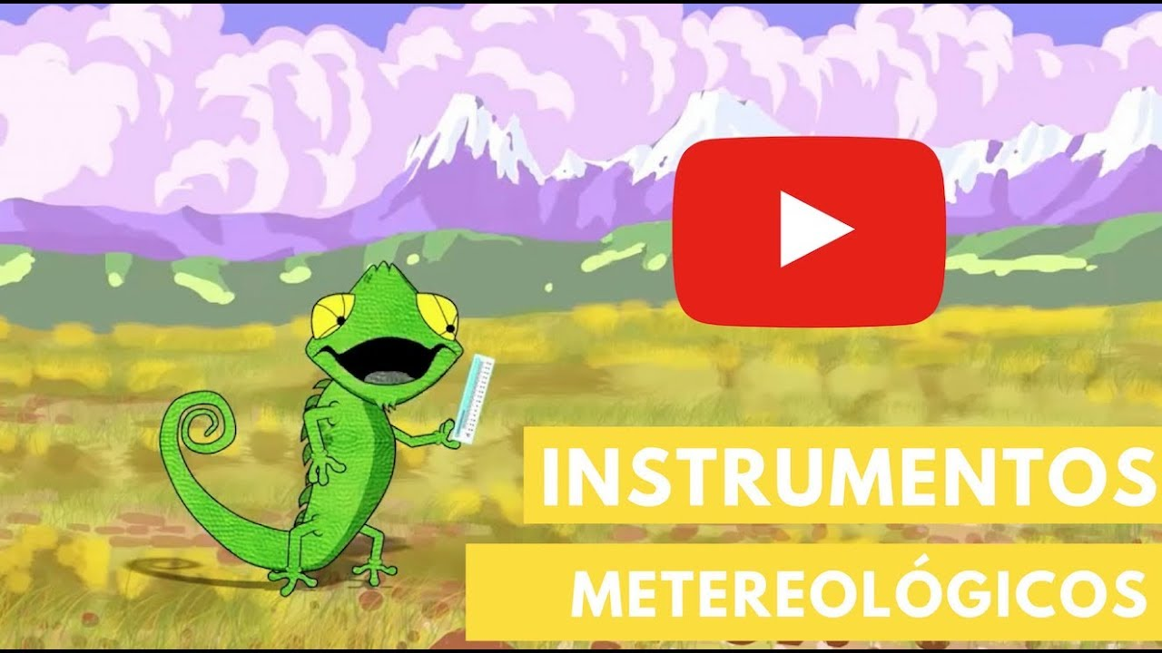 4bc52b0c9 Instrumentos meteorológicos | Camaleón - YouTube