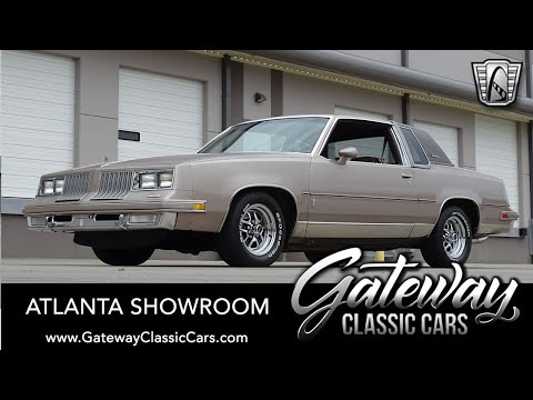 1984 Oldsmobile Cutlass Supreme Brougham For Sale Gateway Classic Cars Of Atlanta #1435