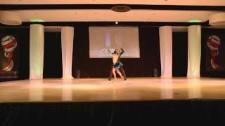 Cristian Oviedo & Alien Ramirez / El Salvador - Cuba- World Latin Dance Cup 2012 Salsa On1 2nd Place