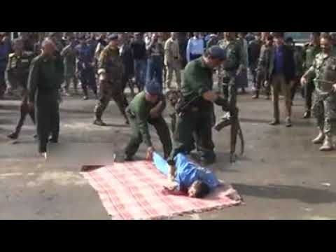 Download Man Publicly Executed For Murder And Rape Of 3 years old child and hanged in front of public