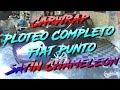 [CarWrap] Ploteo Completo Fiat Punto Satin Chameleon