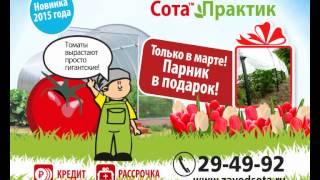Теплица Сота, Парник в подарок(, 2015-04-14T10:03:22.000Z)