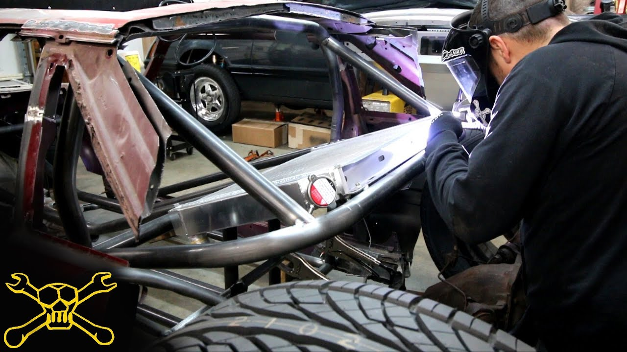 Rear Mounted Radiator & 4 Link Suspension | Mustang Hot Rod Build