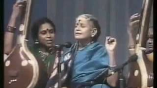 Nada Vindu kaladi namo MS Subbulakshmi