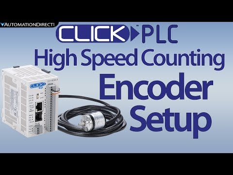 CLICK PLC High Speed Counter (HSC) : Encoder Counts- Encoder Position