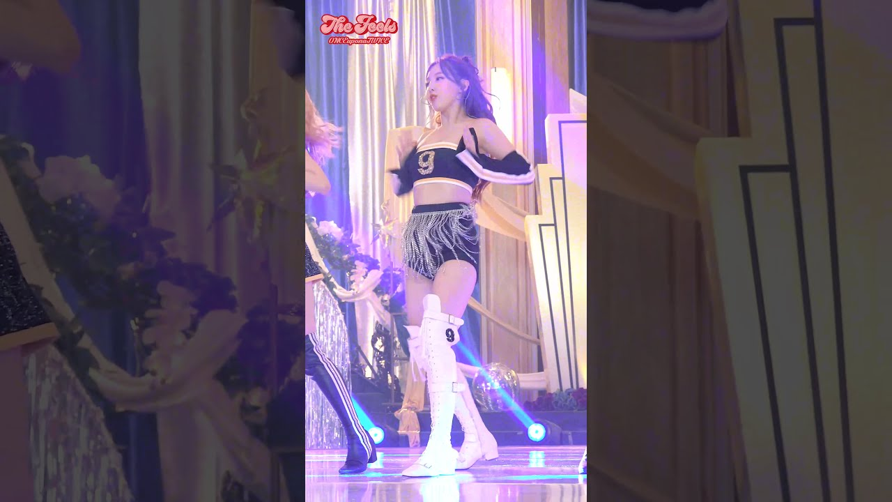 """TWICE """"The Feels"""" FanCam StageMix @The Tonight Show Starring Jimmy Fallon"""
