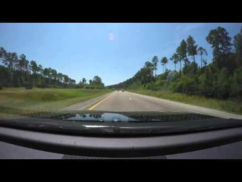 Drive from Mobile AL to Pensacola Beach FL