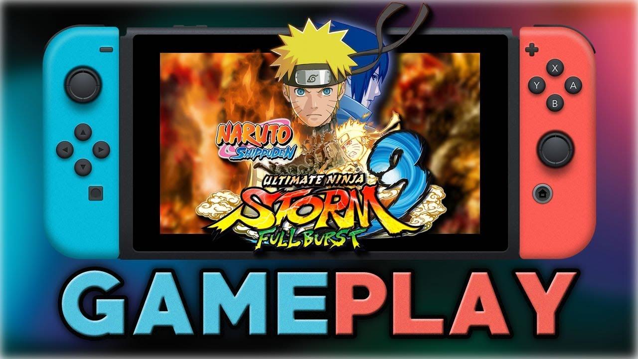 NARUTO SHIPPUDEN: Ultimate Ninja STORM 3 Full Burst | First 50 Minutes | Nintendo Switch