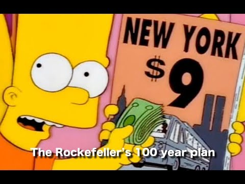 911 and The Money!  The Rockefeller's 100 year plan.