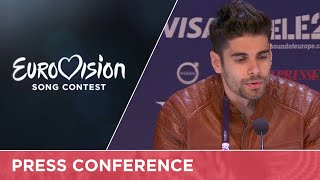 Freddie (Hungary) Press Conference(Freddie will represent Hungary at the 2016 Eurovision Song Contest in Stockholm with the song Pioneer., 2016-05-07T09:12:12.000Z)