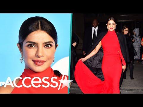 Priyanka Chopra Dazzles In Ravishing, Curve-Hugging Red Gown Mp3