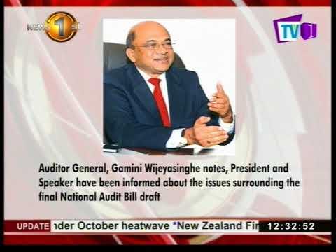 President, Speaker informed on issues surrounding National Audit Bill: Auditor General