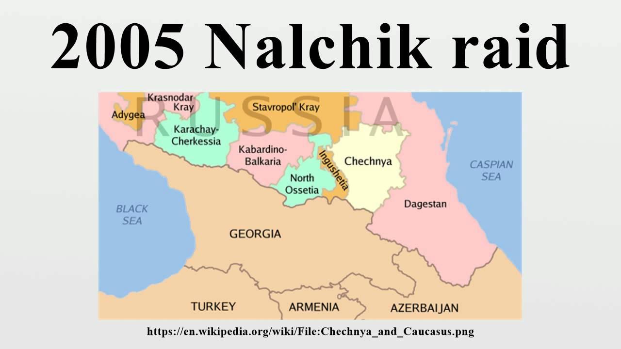 Nalchik Raid YouTube - Nalchik map