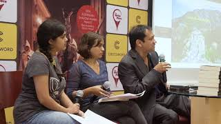 Interview at my book launch