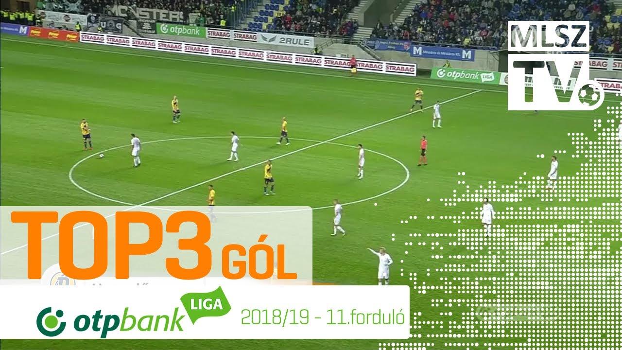 TOP 3 GÓL – 11. forduló | OTP Bank Liga | 2018/2019