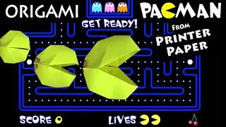 Pacman in Real Life from PRINTER PAPER