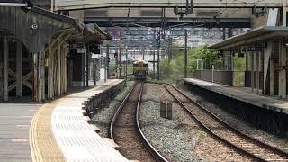 鹿児島本線キハ47系特急或る列車2021年4月24日(土)13時31分頃