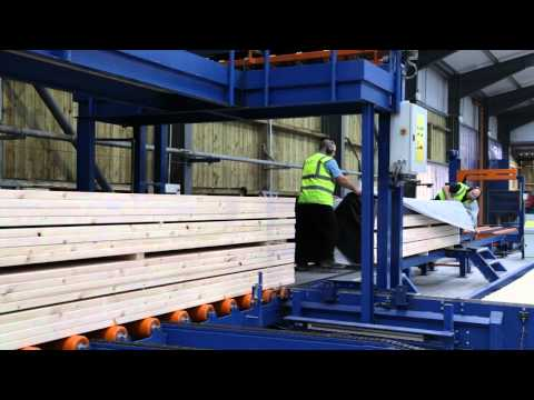 ECC Timber stressgrading, planing and added value line for fencing and construction timbers
