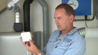 Installeren draadloze thermostaat op aanuit cv ketel