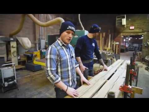 How to Make Your Own Reclaimed Wood Beam Wrap