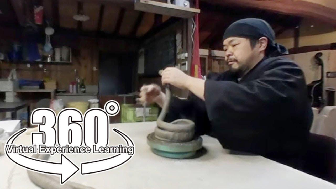 【360°】ながせ陶房 | 長崎県東彼杵郡波佐見町 陶芸家