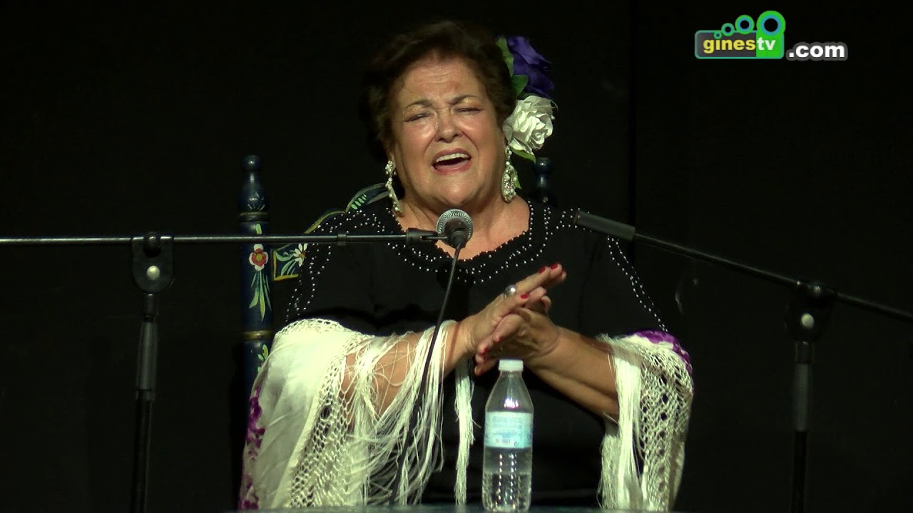 Lola Moreno en el XVIII Festival Flamenco de Gines 2018