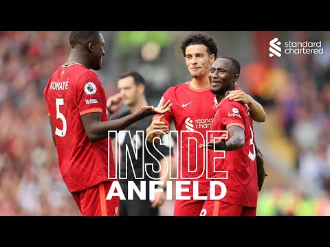 Inside Anfield: Liverpool 3-0 Crystal Palace |  Sadio's 100, the celebration of Salah and the wonder of Naby!