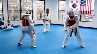Dong Keun Park Tae Kwon Do Sparring Class 06 06 17