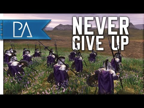 Why You Should Never Give Up! - Lord Of The Rings - Third Age Total War: Reforged