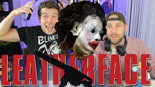 LEATHERFACE Trailer Reaction (HORROR Trailers 2017)