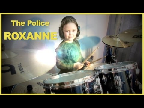Milana The Police Roxanne 6 Year Old Female Drummer