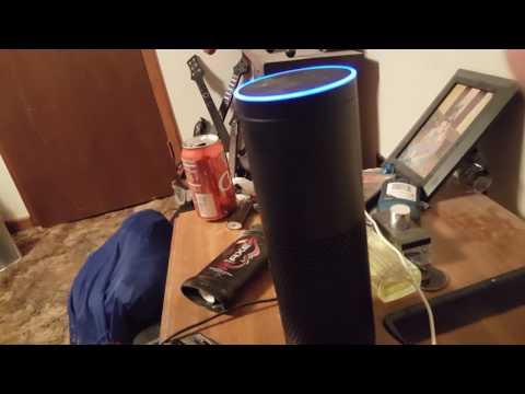 Amaz Echo Alexa singing a sg