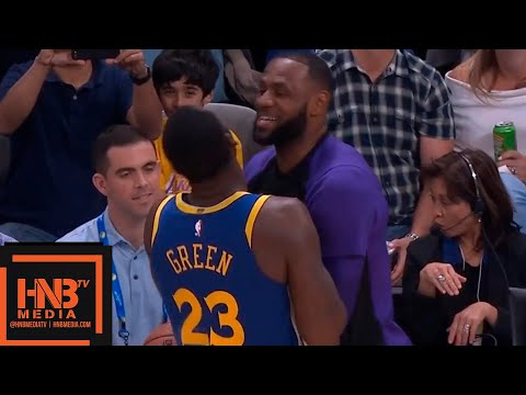 Los Angeles Lakers vs Golden State Warriors 1st Half Highlights | 10.12.2018, NBA Preseason