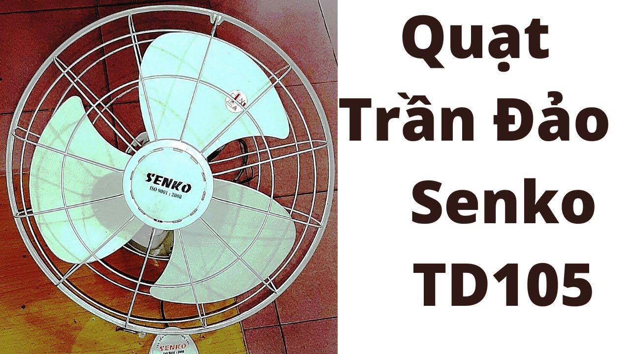 Quạt trần đảo làm mát  không khí hiệu Senko model TD 105