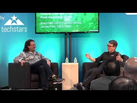 Startup Lessons From Fitbit: Brad Feld + James Park at CES