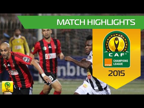 USM Alger vs TP Mazembe | 2015 Orange CAF Champions League |