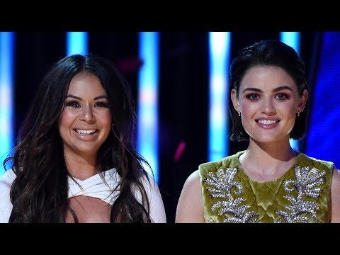 Lucy Hale & Janel Parrish Get Surprised With Awards At The 2017 TCAs