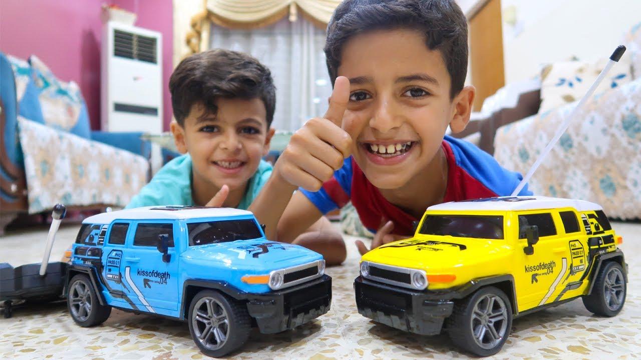سباق سيارات جيب بين عبودي ويوسف !! Jeep racing