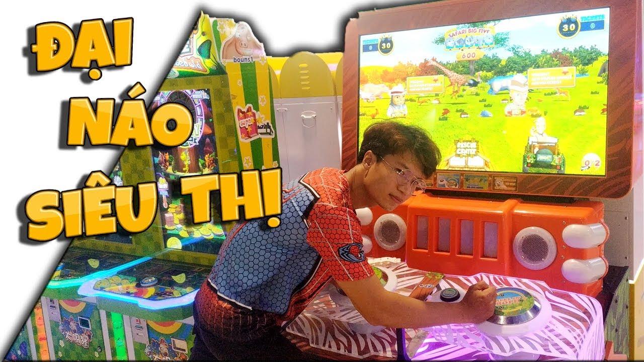 Tony & Ông Trùm Đại Náo Phòng Game Siêu Thị Gigamall – Tony Vlogs