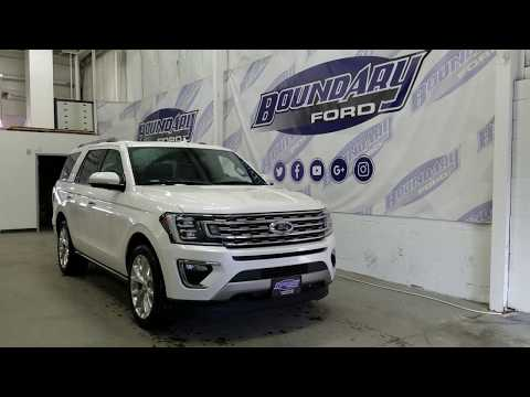 2018 Ford Expedition Limited W/ Leather, Sunroof, 7 Passenger Overview | Boundary Ford