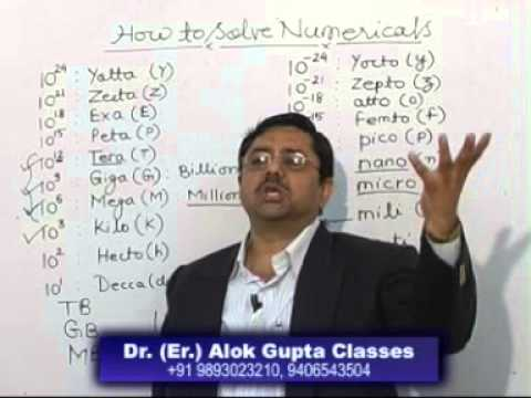 How to Solve Numericals in Physics / Chemistry 11th, 12th CBSE, JEE, NEET