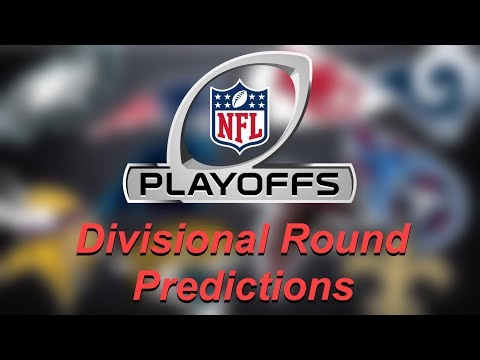 2018 NFL Divisional Round Playoffs Predictions!